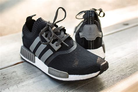 Sepatu Sneakers Adidas Nmd Black Grey adidas nmd black grey reflective sneaker bar detroit