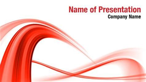 ppt templates free download red red powerpoint templates abstract red wave powerpoint