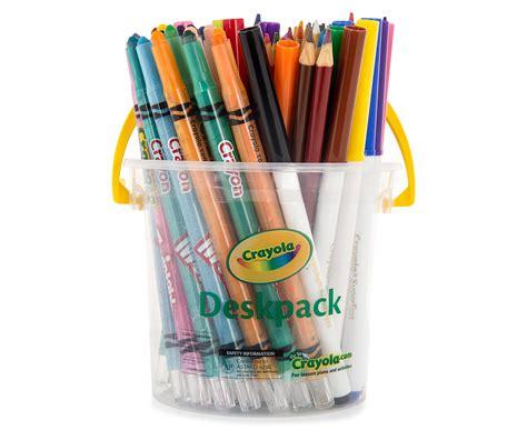 catchoftheday au crayola essentials deskpack 60 pack