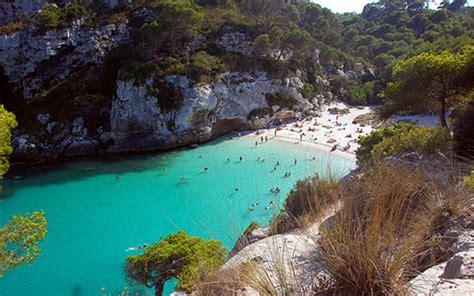 Sun Bell Tuna Rica Rica menorca playas paradis 237 acas en una costa llena de
