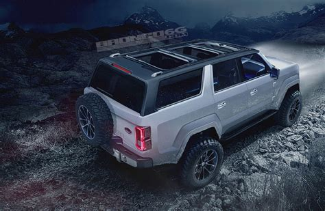 ford bronco 2017 4 2020 ford bronco 4door render air roof the fast lane car