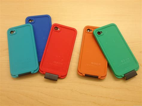 lifeproof expands colors for iphone shows