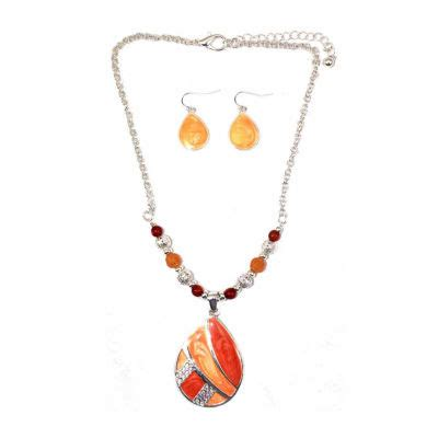 mixit womens 2 pc jewelry set jcpenney