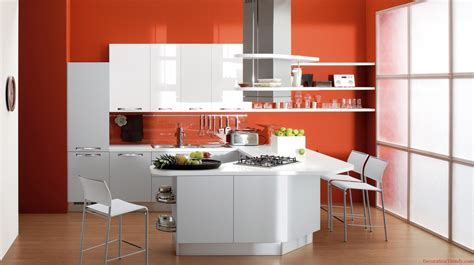 orange kitchen ideas orange kitchen decorating ideas baytownkitchen