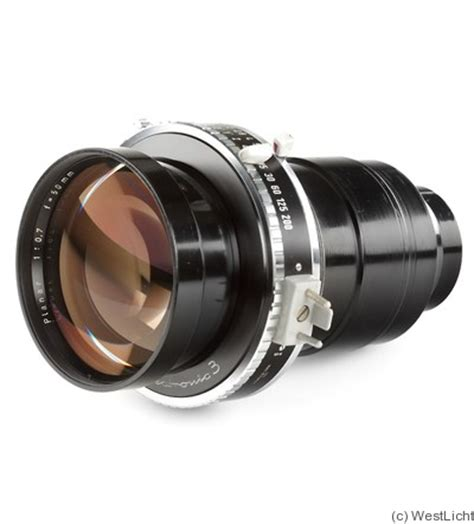 zeiss, carl: 50mm (5cm) f0.7 planar lens price guide