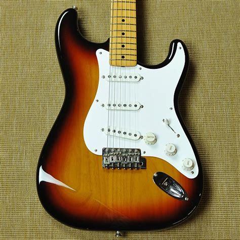 Fender Stratocaster Japan Reissue fender japan 58 stratocaster reissue mij sunburst