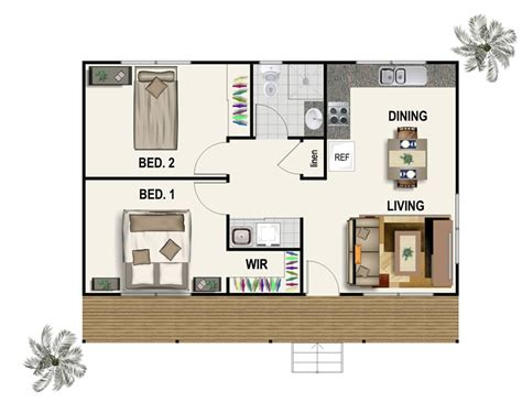Studio Floorplan by Cabin Floor Plans Newcastle Central Coast Northern