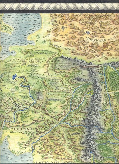 best map of middle earth 25 best middle earth map ideas on