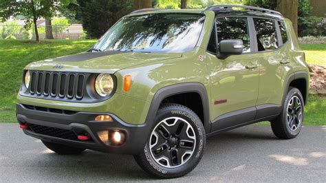 trailhawk jeep green 2015 jeep renegade trailhawk start up road test and in
