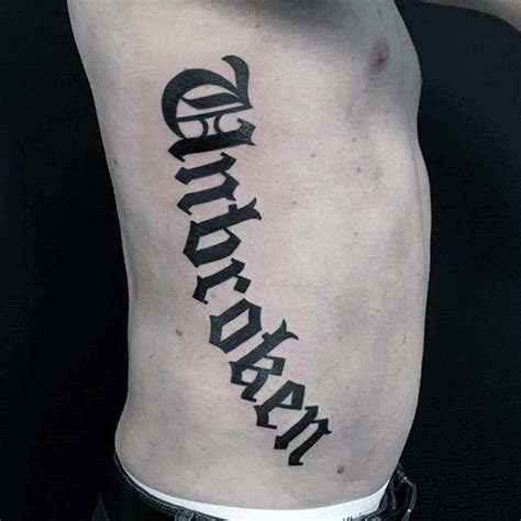 unbroken tattoo 50 tattoos for retro font ink design ideas