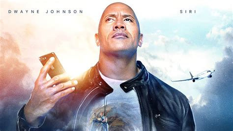dwayne the rock johnson update dwayne johnson and apple made a siri movie update live