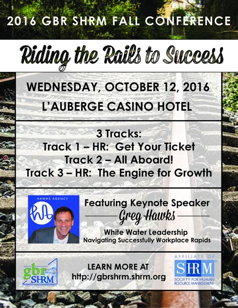 gbr shrm fall conference riding rails success