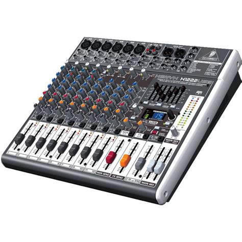 Mixer Behringer X1222usb behringer xenyx x1222usb mixer b stock at gear4music