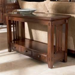 broyhill furniture vantana three drawer sofa table value