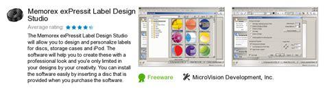 label design studio software at memorex com labelmaker free memorex expressit label design studio download 0 bytes