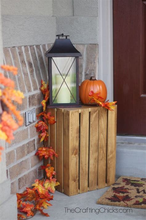 fall porch ideas  small porches fall decorating