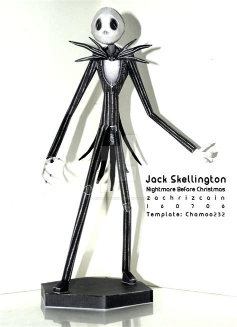Skellington Papercraft - introvertvirtuoso zachriz cain deviantart