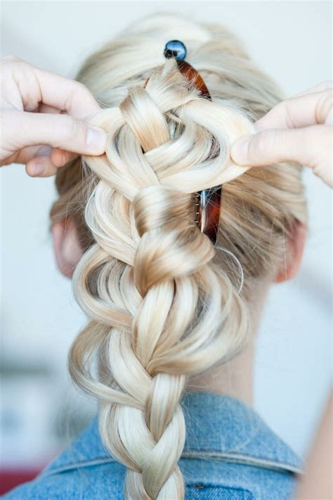 hairstyles using banana clips 1343 best images about braids on pinterest crown braids