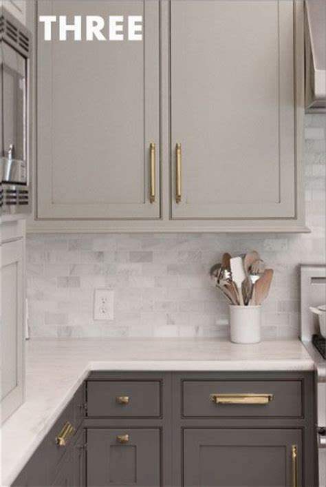 what color hardware for white kitchen cabinets copy cat chic clients anne curry kitchen 12314 copy cat