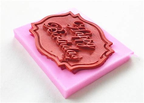 Impression Mats For Cake Decorating by Happy Birthday Silicone Mould Cake Decorating Lace