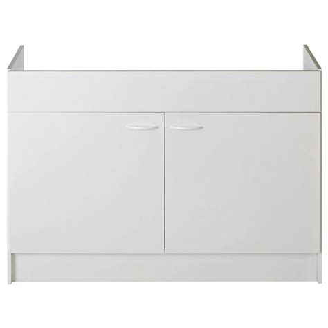 Meuble Evier 120 by Meuble Sous 233 Vier 120 2 Portes Nord Inox