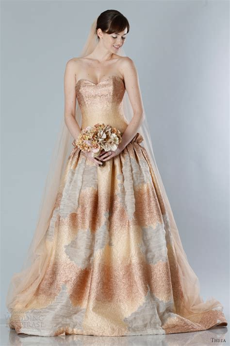 fall dress colors theia fall 2013 white collection wedding dresses wedding