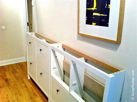 ikea hemnes shoe cabinet hack   ikea shoe cabinet