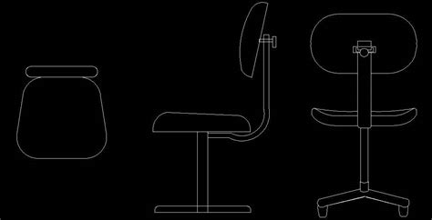 Executive Chair Cad Block   Plan n Design