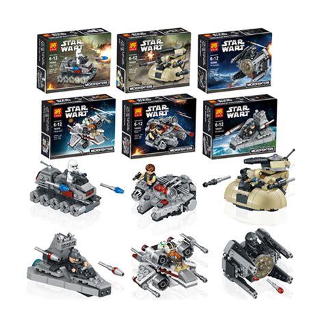 Block Lego Qsob Minifigure Wars 1 Set 6 Pcs Termurah 6pcslot Lele 79025 R2d2 Wars Clone Troopers