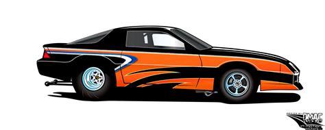 design graphics for race car custom race car design renderings in motion solutionsin