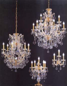 kristall luster cristalux lustre en cristal chandelier