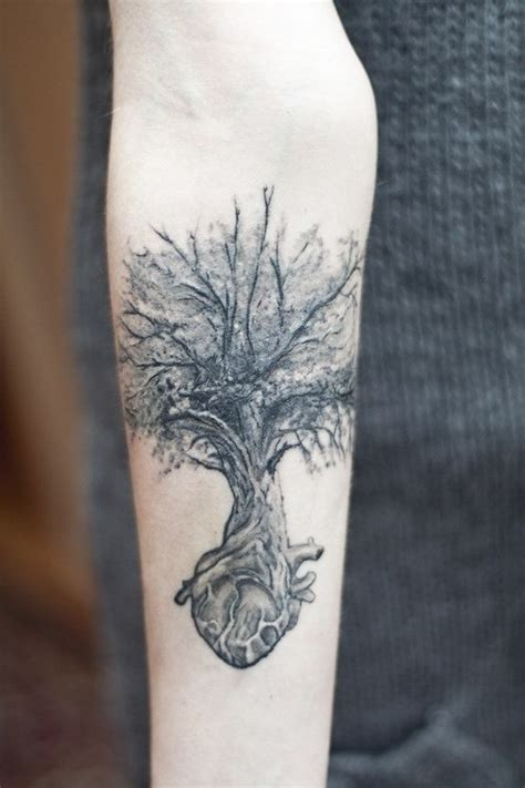 heart tree tattoo tree on chaos trees