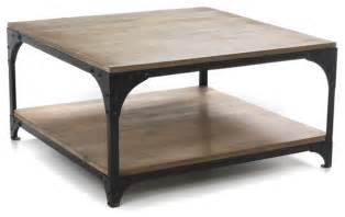 new ately table basse carr 233 e au style industriel