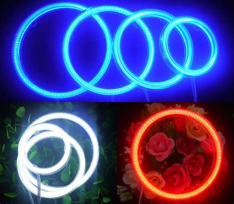 Lu Led Eye Chip Cob 80mm 100mm 3 Inchi 4 Inchi Premium 2 x cob 60mm 80mm 90mm 100mm car ccfl halo rings light headlight l ebay