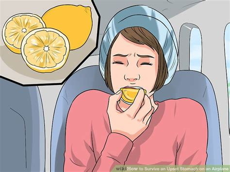my has an upset stomach 3 ways to survive an upset stomach on an airplane wikihow