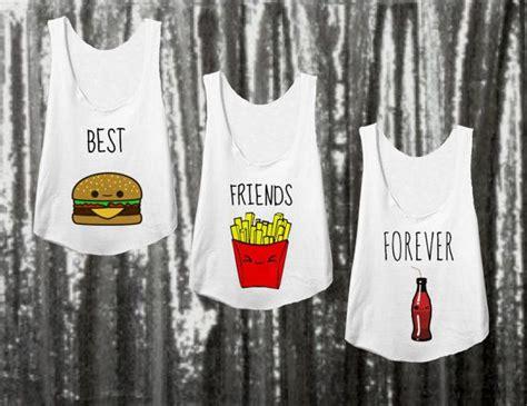 best for 3 die besten 17 ideen zu best friend shirts auf