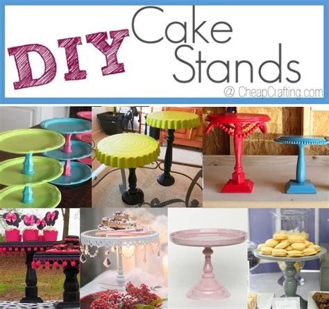 diy bridal shower on a budget cheap diy cake stands for and occasions