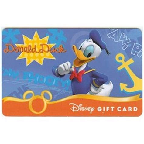 Gift Cards Fab - your wdw store disney collectible gift card fab six donald duck
