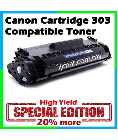 Toner Canon 303 canon 303 canon cartridge 303 high quality compatible