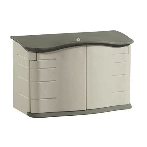 Large Rubbermaid Shed by Rubbermaid 3748 Olive Sandstone Large Horizontal Outdoor