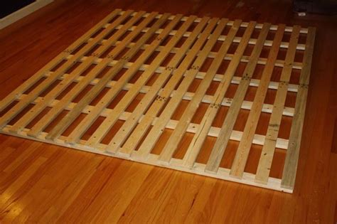 Cheap Wood Bed Frame How To Make A Cheap Low Profile Wooden Bed Frame Mattress Raising And Profile