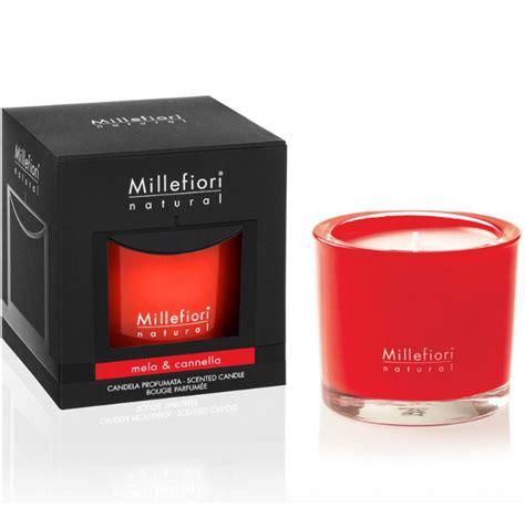 millefiori candele millefiori candela profumata mela e cannella fior di