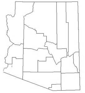 blank map of arizona index of images blank map