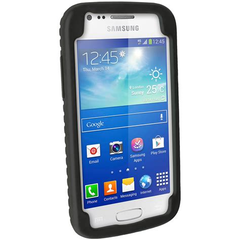 Lovelyskin Samsung Galaxy Ace2 Custom Design igadgitz black tyre tread silicone for samsung galaxy ace 3 gt s7275 gt s7270 gt s7272
