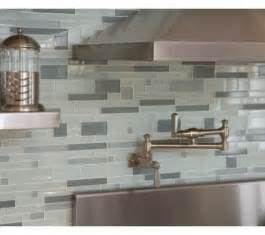 Glass Tile Kitchen Backsplash by Modern Glass Tile Backsplash For Kitchens Decozilla