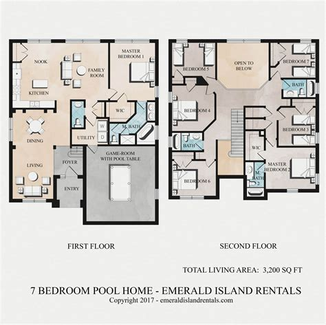 villa layout luxury island villa floor plan of emerald island orlando 7 bed villa mufasa s magic