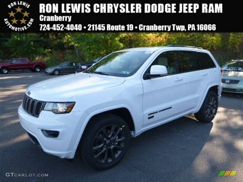 white jeep 2017 2017 bright white jeep grand limited 4x4