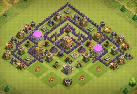 update layout coc 8 best town hall 7 defense bases 2018 3 air defense