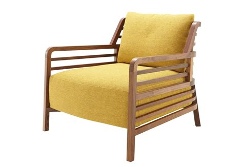 ligne roset armchair chair made of natural wood in flax fabric ligne roset