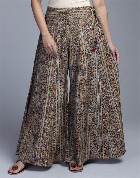 Ca Stelan Kulot Batik Premium Size Xl cotton kalamkari side tie palazzo traditional pant top side ties palazzo and